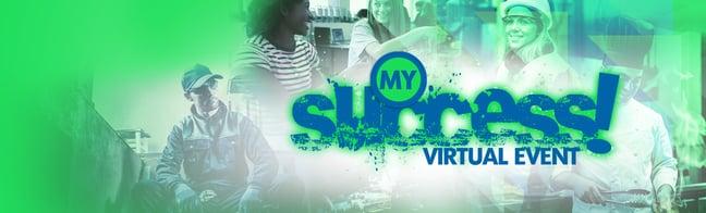 My Success Virtual Event Sample Banner V1
